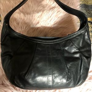 Coach Black Leather Ergo Hobo Bag C0873-12236